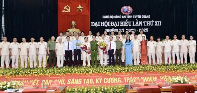 Đại hội đại biểu Đảng bộ Công an Công an tỉnh Tuyên Quang - Ảnh minh hoạ 3