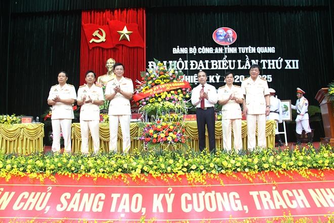 Đại hội đại biểu Đảng bộ Công an Công an tỉnh Tuyên Quang