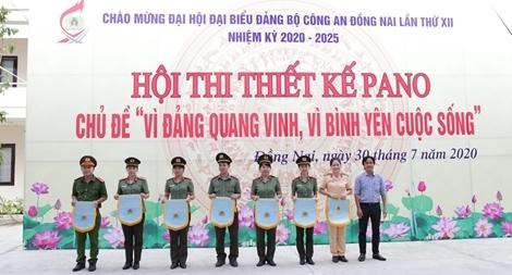 """CA Đồng Nai tổ chức thi thiết kế pano """"Vì Đảng quang vinh, vì bình yên cuộc sống"""""""