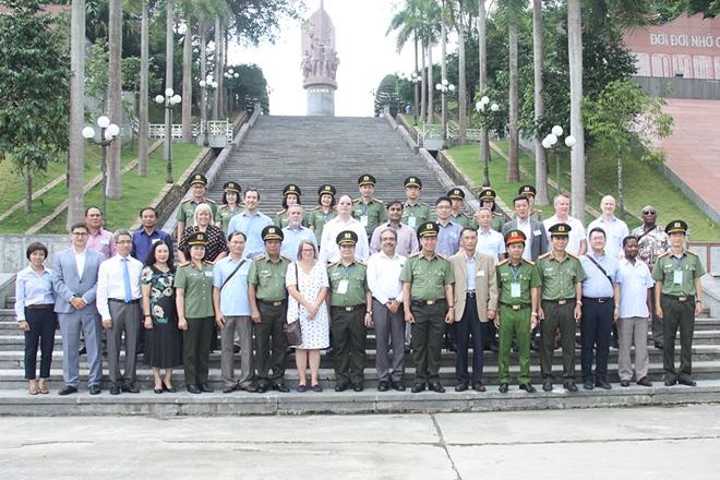 Thúc đẩy hợp tác giữa Bộ Công an Việt Nam với Cơ quan thực thi pháp luật của các nước