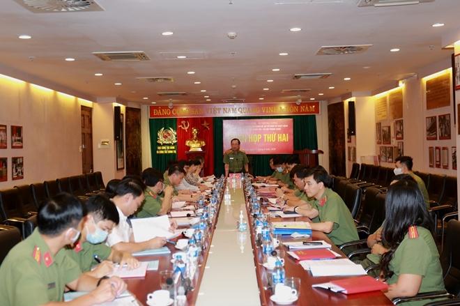 Lấy ý kiến về đề án tổ chức và hoạt động của các đoàn thể chính trị - xã hội trong CAND