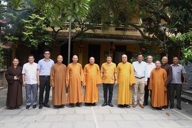 Thứ trưởng Lương Tam Quang chúc mừng tăng ni, phật tử nhân lễ Vu Lan - Ảnh minh hoạ 2