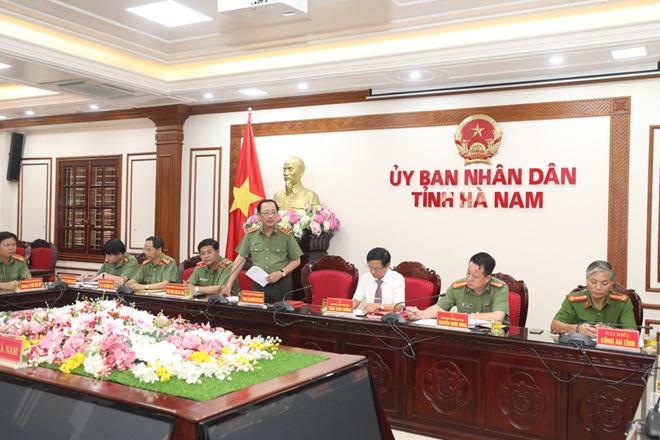 Lấy ý kiến Dự thảo Kết luận thanh tra việc chấp hành các quy định của pháp luật về phòng cháy, chữa cháy tại Hà Nam