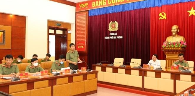 Thứ trưởng Lê Tấn Tới làm việc với Công an TP Hải Phòng - Ảnh minh hoạ 3