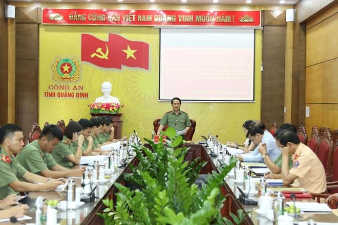 Hội thảo đề tài khoa học cấp tỉnh về công tác bảo đảm an ninh du lịch