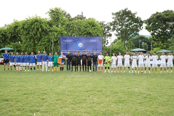 Giao hữu bóng đá kỷ niệm 25 năm thiết lập quan hệ Việt Nam - Mỹ - Ảnh minh hoạ 4