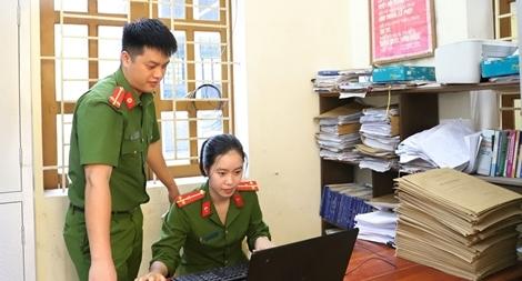Công an Hà Tĩnh hoàn thành công tác bố trí Công an chính quy về xã