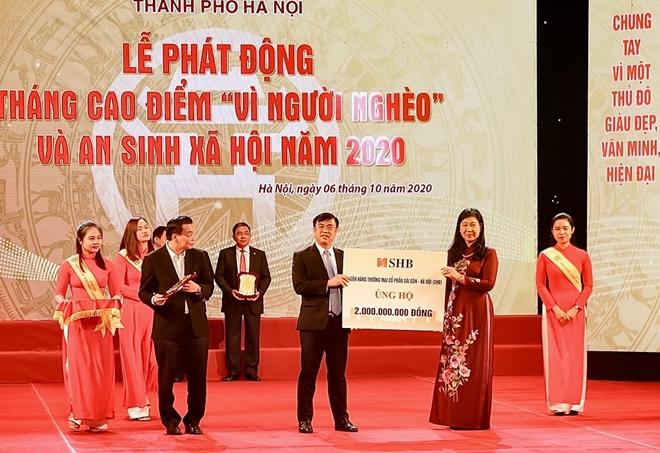 """""""Bầu Hiển"""" ủng hộ 5 tỷ đồng Quỹ Vì người nghèo thành phố Hà Nội - Ảnh minh hoạ 3"""