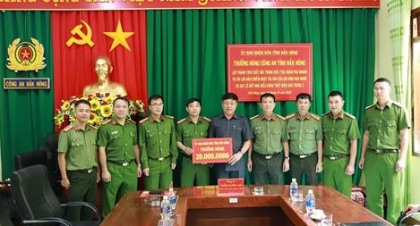 Thư khen các đơn vị phá vụ chiếm đoạt tiền nạn nhân Thủy điện Rào Trăng