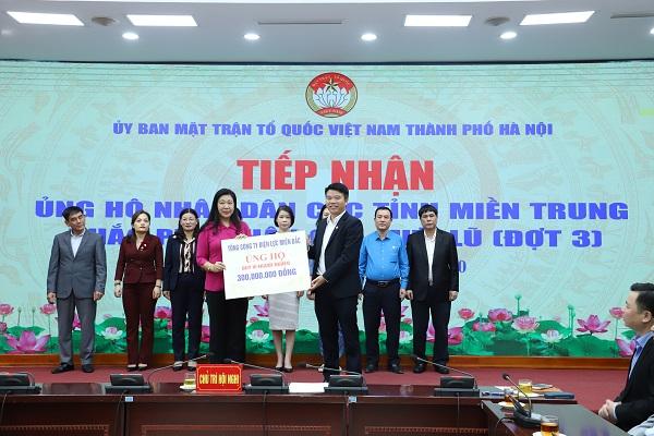 EVNNPC ủng hộ đồng bào miền Trung 1 tỷ đồng - Ảnh minh hoạ 2