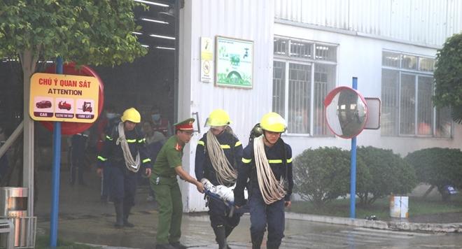 Nâng cao chữa cháy, cứu nạn cứu hộ tại công ty sản xuất ô tô - Ảnh minh hoạ 2