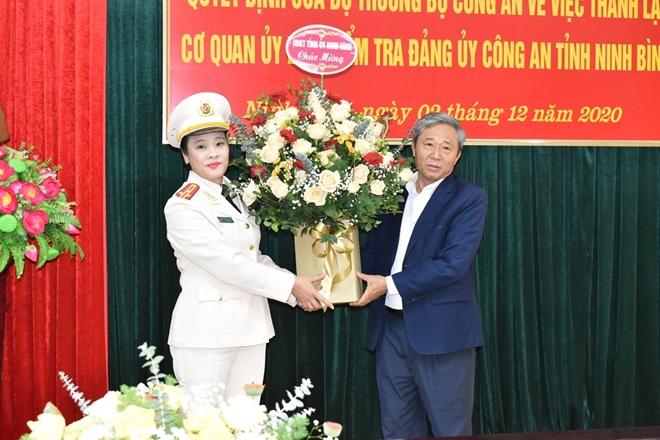 Thành lập Cơ quan Ủy ban kiểm tra Đảng ủy Công an tỉnh Ninh Bình. - Ảnh minh hoạ 2