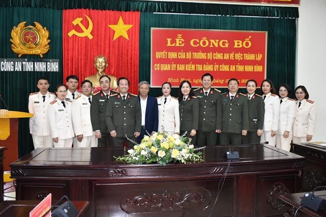 Thành lập Cơ quan Ủy ban kiểm tra Đảng ủy Công an tỉnh Ninh Bình. - Ảnh minh hoạ 3