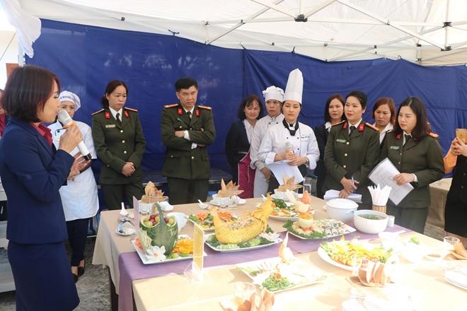 """Tổ chức Hội thi """"Bữa ăn điểm 10"""" trong công đoàn Cục Y tế - Ảnh minh hoạ 4"""