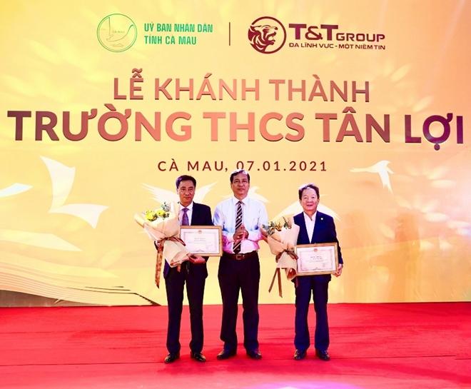 Tập đoàn T&T Group tài trợ xây dựng trường học tại tỉnh Cà Mau - Ảnh minh hoạ 2