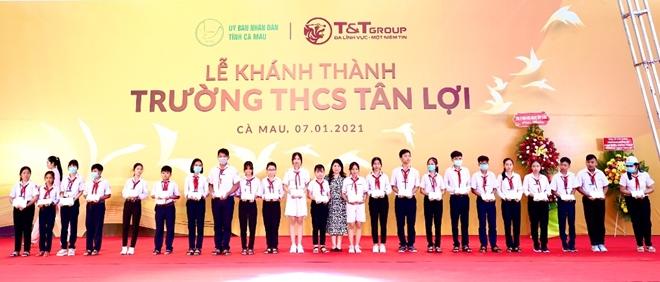 Tập đoàn T&T Group tài trợ xây dựng trường học tại tỉnh Cà Mau - Ảnh minh hoạ 3