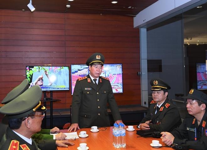 Thứ trưởng Bùi Văn Nam kiểm tra công tác đảm bảo an ninh, an toàn Đại hội XIII của Đảng - Ảnh minh hoạ 3