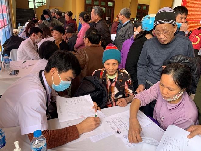 Khám, phát thuốc miễn phí cho 500 gia đình tại huyện Phúc Thọ - Ảnh minh hoạ 3
