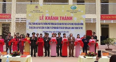 Khánh thành nhà ở bán trú cho học sinh tại huyện Điện Biên Đông