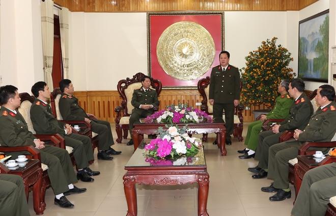 Thứ trưởng Bùi Văn Nam kiểm tra công tác bảo đảm ANTT tại Công an tỉnh Hà Nam - Ảnh minh hoạ 3