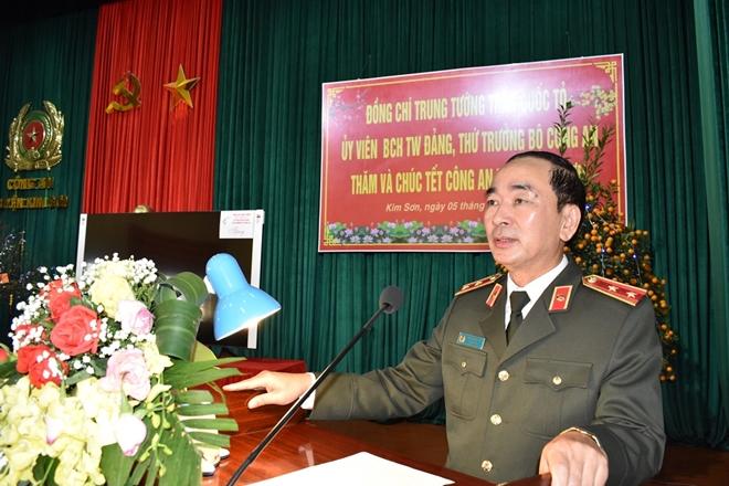 Thứ trưởng Trần Quốc Tỏ thăm và làm việc tại Công an huyện Kim Sơn - Ảnh minh hoạ 2