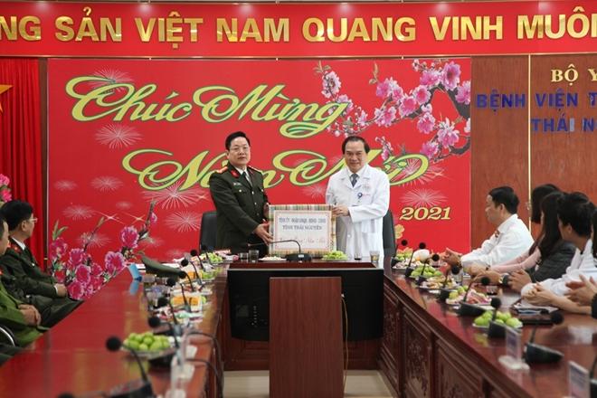 Thăm và chúc Tết Bệnh viện Trung ương Thái Nguyên