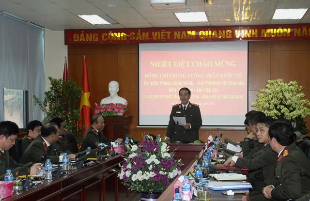Thứ trưởng Trần Quốc Tỏ kiểm tra công tác một số đơn vị của Viện KH&CN - Ảnh minh hoạ 8