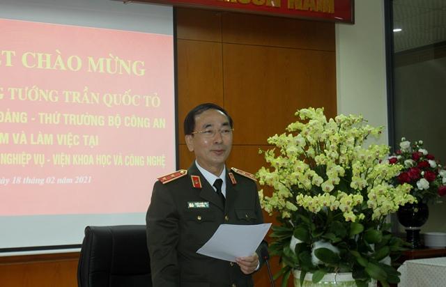 Thứ trưởng Trần Quốc Tỏ kiểm tra công tác một số đơn vị của Viện KH&CN - Ảnh minh hoạ 7