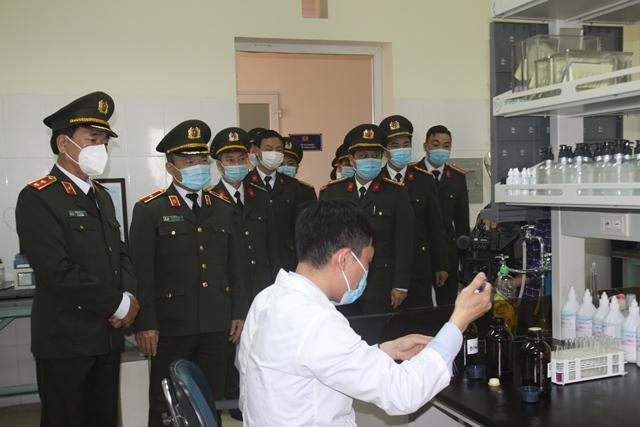 Thứ trưởng Trần Quốc Tỏ kiểm tra công tác một số đơn vị của Viện KH&CN - Ảnh minh hoạ 6