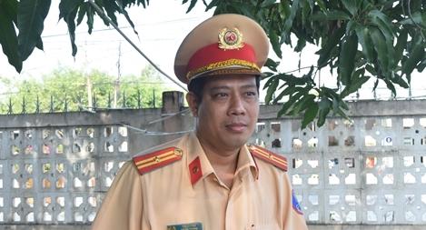 Một Đội trưởng CSGT gương mẫu