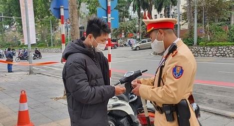 Bắt đầu xử phạt vi phạm giao thông qua dịch vụ công Quốc gia