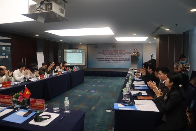 ASEANAPOL bàn giải pháp phòng, chống tội phạm mua bán người - Ảnh minh hoạ 2