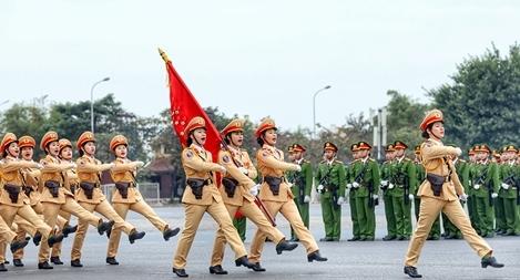 """Những """"hoa thép"""" của  lực lượng Công an nhân dân"""