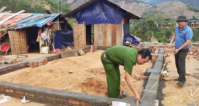 Bộ Công an hỗ trợ xây dựng 600 căn nhà tặng đồng bào huyện Mường Lát - Ảnh minh hoạ 2
