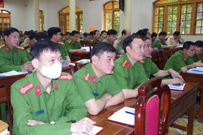 Công an Thái Nguyên học tập, quán triệt Văn kiện Đại hội Đảng bộ Công an Trung ương