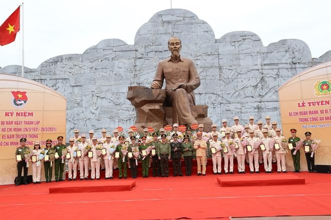 Tuyên dương 65 chi đoàn mạnh và 90 bí thư chi đoàn tiêu biểu trong CAND - Ảnh minh hoạ 4