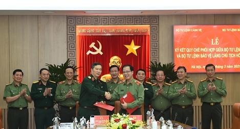 Đảm bảo ANTT khu vực Lăng Chủ tịch Hồ Chí Minh và Quảng trường Ba Đình
