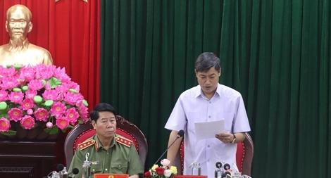 Thứ trưởng Bùi Văn Nam kiểm tra công tác bảo đảm ANTT tại tỉnh Sơn La