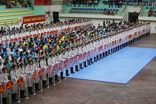 Khai mạc Hội thao lực lượng CAND năm 2021