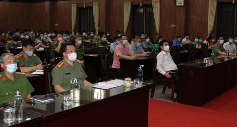 Công an tỉnh Hà Nam tập huấn truy vết  người tiếp xúc ca nhiễm SARS-Cov-2