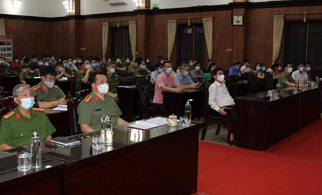 Công an tỉnh Hà Nam tập huấn truy vết  người tiếp xúc ca nhiễm SARS-Cov-2 - Ảnh minh hoạ 2