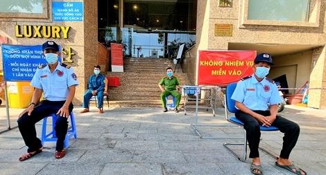 Công an TP Đà Nẵng nỗ lực đảm bảo an ninh trật tự tại các khu cách ly