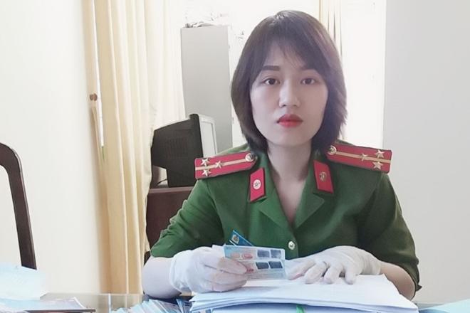 Nữ Thượng úy mắc bệnh hiểm nghèo xung phong tham gia chiến dịch cấp CCCD