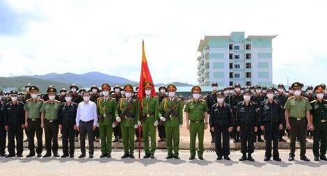 Hoàn thành tốt khóa huấn luyện chiến sĩ nghĩa vụ CAND