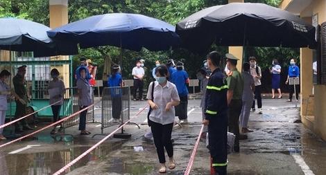 Công an TP Hà Nội đồng loạt ra quân bảo vệ kỳ thi tuyển sinh