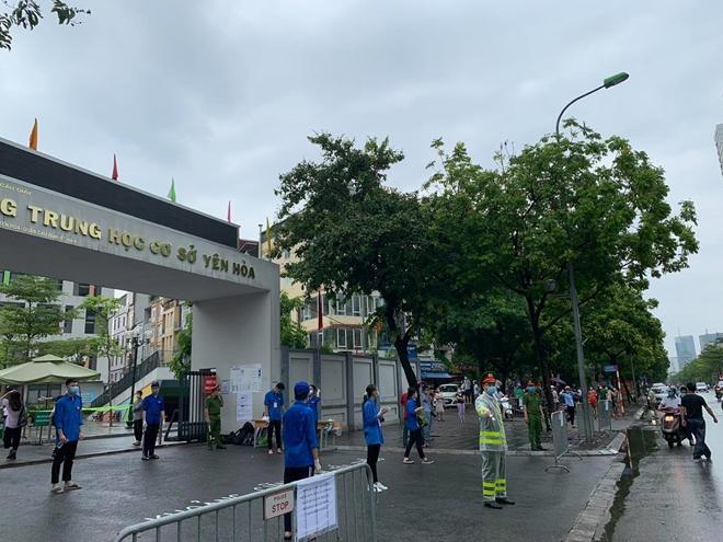 Công an TP Hà Nội đồng loạt ra quân bảo vệ kỳ thi tuyển sinh - Ảnh minh hoạ 5