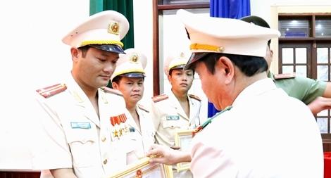Trung tá Lương Anh Sơn - gương sáng trong công tác PCCC và cứu nạn, cứu hộ