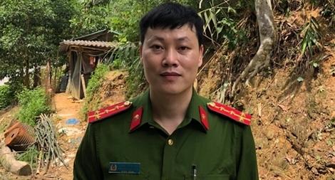 Lãnh đạo Bộ Công an gửi thư khen Đại úy Hoàng Ngọc Hào