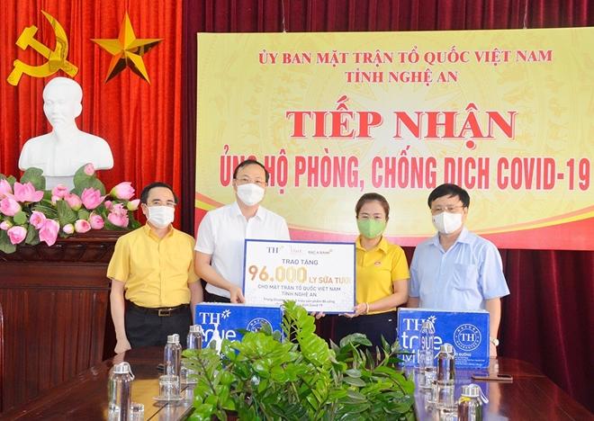 Tập đoàn TH trao tặng Nghệ An 96.000 sản phẩm tốt cho sức khỏe, chung tay chống dịch COVID-19 - Ảnh minh hoạ 2