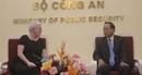 Thúc đẩy hợp tác phòng chống tội phạm giữa Việt Nam-Hoa Kỳ